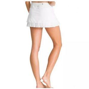 Athleta • Good Match Tennis Skirt White